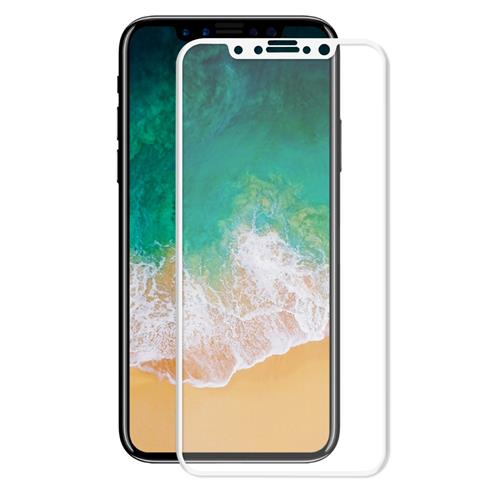 ENKAY Hat-Prince Tempered Glass 0.26mm 3D Explosion-proof Membrane Glass Film For iPhone 8 - White