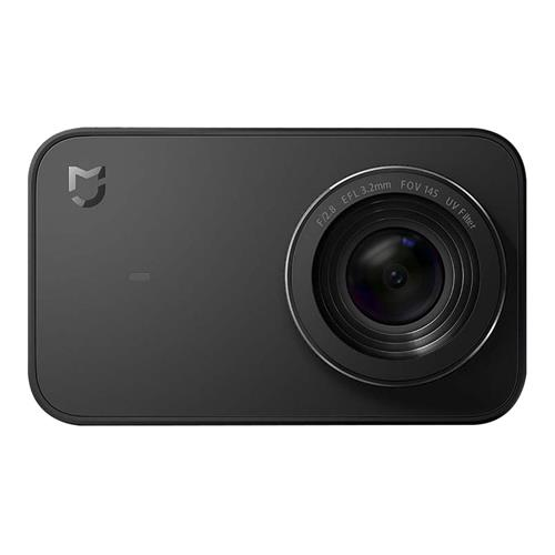 Xiaomi Mijia 4K Ambarella A12S75 Sony IMX317 2.4inch Touch Screen Action Camera 7p Lens EIS 6-axis 145 Degree Wide Angle 1450mAh Battery Global Version - Black