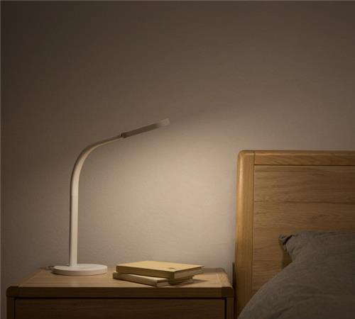 Xiaomi Mijia Yeelight LED Desk Lamp Pieghevole Luce notturna Regolabile Temperatura colore Luminosità 2000mAh Batteria -Bianco / Versione di ricarica