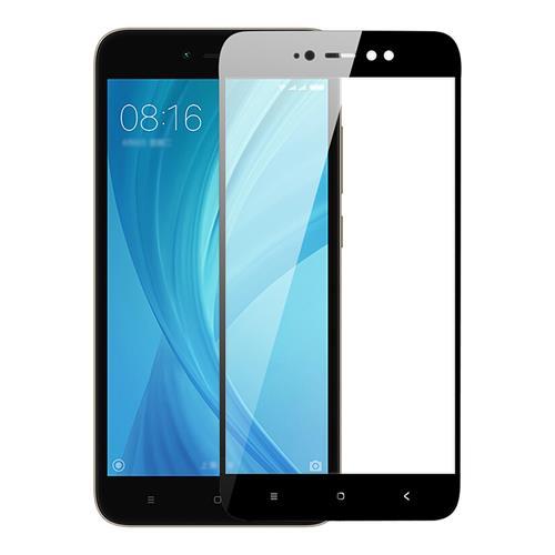 Black Xiaomi Redmi Note 5A Glass Film 3+32GB 4+64GB Version 0.26mm 2.5D Arc Edge Explosion-proof Membrane Screen Film фото