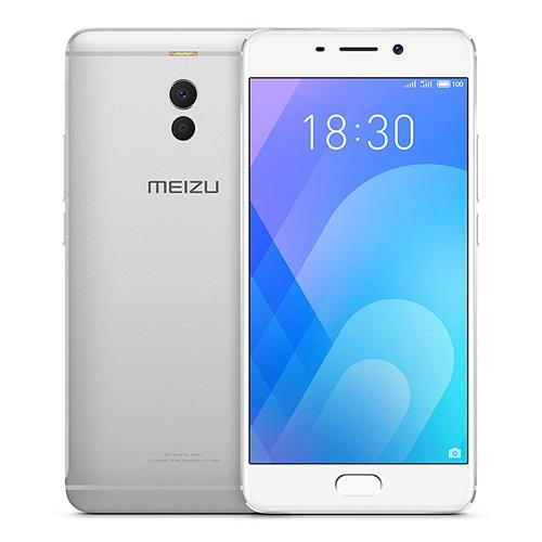 Meizu M6 Note 5.5 Inch 4G LTE Smartphone Snapdragon 625 Octa Core 3GB 16GB 12.0MP Dual Rear Camera Android 7.1 4000mAh Fast Charge - Silver