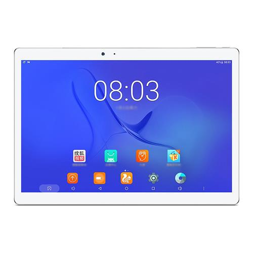 "Teclast T10 10.1"" Android 7.0 Tablet PC MediaTek MT8176 Hexa Core 4GB RAM 64GB Fingerprint Sensor GPS Dual Camera Dual WIFI  - Silver/White"