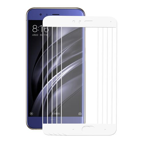 [Wholesale]5PCS White Xiaomi Mi6 Tempered Glass ENKAY Hat-Prince 0.26 mm 2.5D Explosion-proof Membrane Screen Film фото