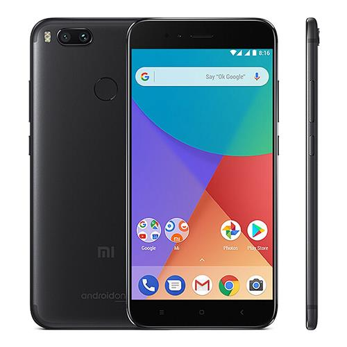 Xiaomi Mi A1 5.5 inch Smartphone Android One Dual Rear 12.0MP Cam Snapdragon 625 4GB 64GB IR Remote Control Full Metal Body Global Version - Black