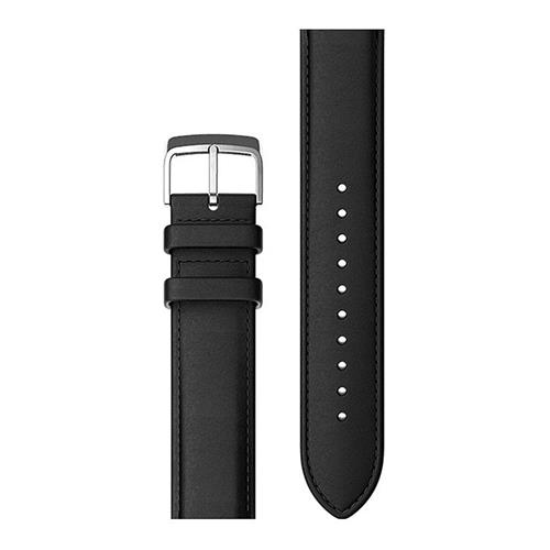 Original Ticwatch 2 Ticwear Replacement WristGenuine Leather Strap Wearable Wristband - Black