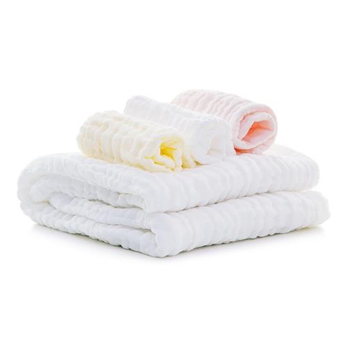 Xiaomi Mijia Cotton Towel 4 in 1 Cotton Gauze Handkercheif Square Bath Towel Set