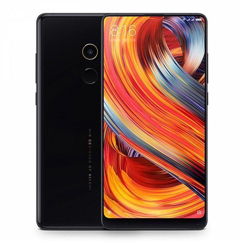 Xiaomi Mi Mix 2 5.99 אינץ 4G LTE Smartphone 6GB 256GB 12.0MP פנס לוע הארי 835 ליבה מקורי דמוי אדם 7.1 NFC VLTE ארבעה צדדי מעוקל קרמי גוף גלובלי ROM - שחור