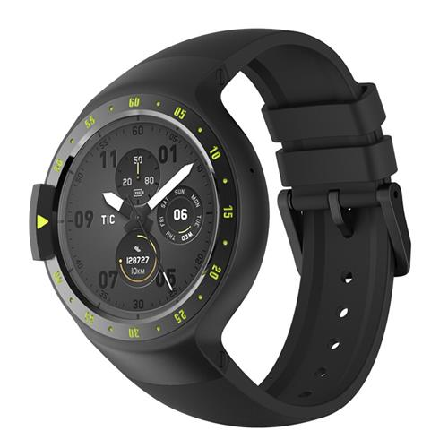 Ticwatch S Sports Smartwatch 1.4 & quot; Display OLED Dual Core MTK 2601 Android Wear Bluetooth Music GPS WIFI compatibile con iOS Android - Knight
