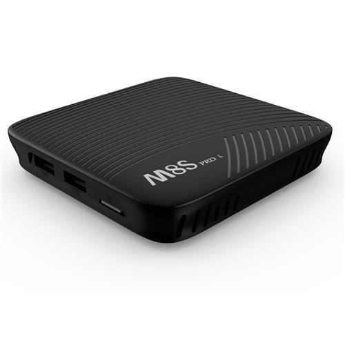 MECOOL M8S PRO L Amlogic S912 3G/32G Android 7.1 YouTube 4K Streaming KODI 17.3 4K TV BOX 802.11AC WIFI LAN - Black