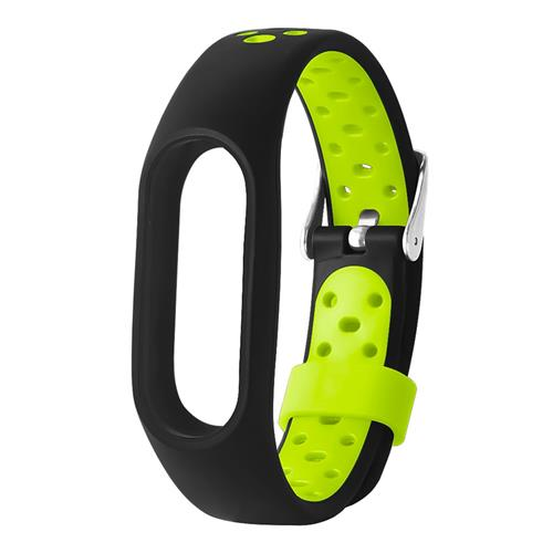 TAMISTER M2 Watch Strap for Xiaomi Mi Band 2 Dual Color Replacement Band - Green