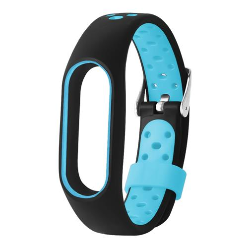 TAMISTER M2 Pro Watch Strap for Xiaomi Mi Band Dual Color Replacing Band - Blue фото