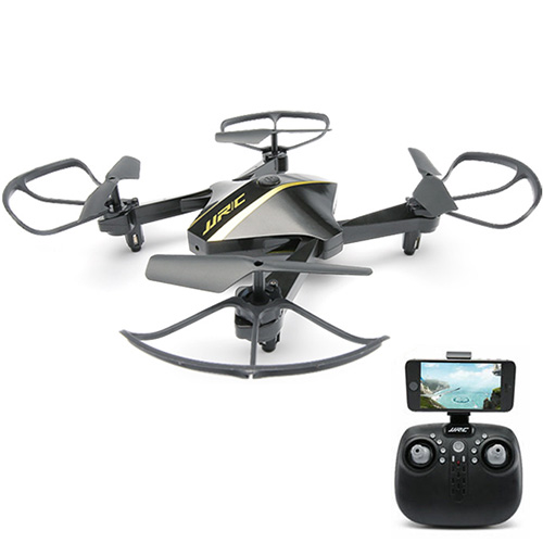 JJRC H44WH DIAMAN 720P WIFI FPV Foldable RC Quadcopter with Altitude Hold Mode RTF - Black