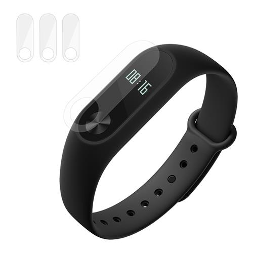 ENKAY  Xiaomi Mi Band 2 Durable PET  Scratch Resistant Protective Film - Transparent