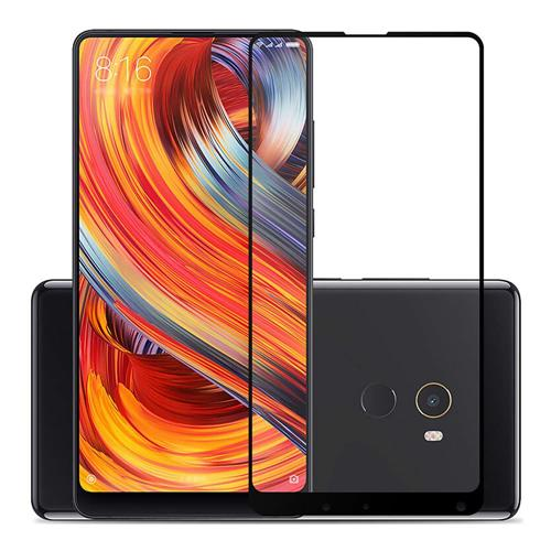 Black Xiaomi Mi Mix 2 Tempered Glass 0.26mm 2.5D Full Screen Arc Edge Explosion-proof Membrane Glass Film фото