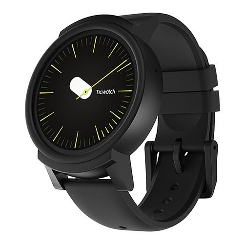 Ticwatch E Sports Smartwatch 1.4 & quot؛ شاشة OLED MT2601 Android Wear بلوتوث 300mAh موسيقى GPS WIFI - الظل
