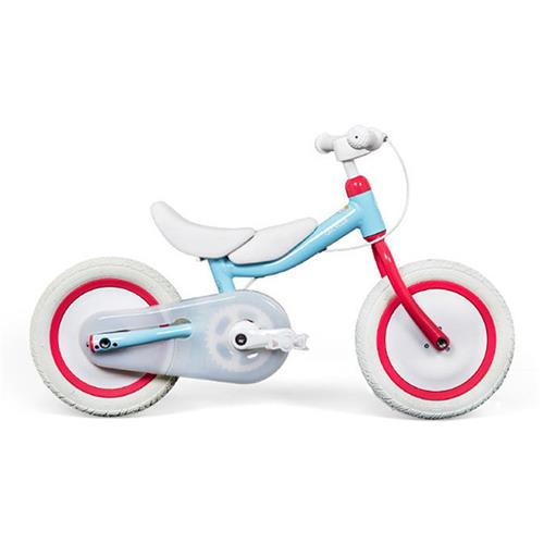 Xiaomi Mijia QiCycle Dual Use Safe Bike For Children Tricycle Scooter Ergonomic Design - Blue + Pink
