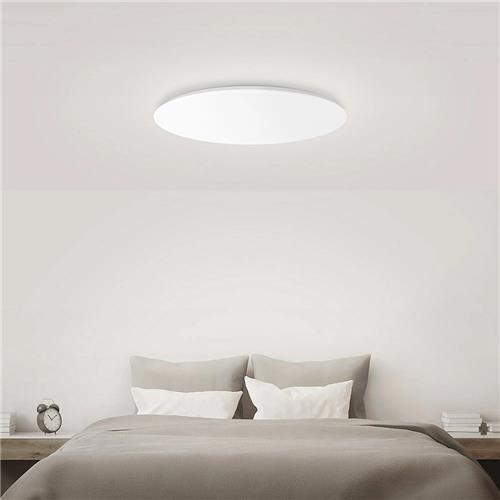 Xiaomi Yeelight Moonlight Smart Plafoniera a LED APP per Bluetooth Telecomando senza fili IP50 Modalità multipla antipolvere -Valutazione bianca / 450x78mm
