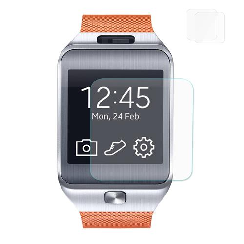 Hat-Prince 0.2mm 2.5D Arc Glass Smart Watch Protective Screen for Gear 2 R380 - Transparent