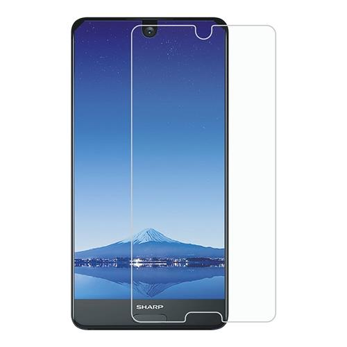 Makibes SHARP AQUOS S2 Tempered Glass 0.33mm 2.5D Arc Screen Protector - Transparent фото