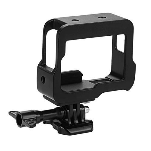Alluminum Legierung Schutzrahmen für GoPro Hero 5 Held 6 CNC Processing Tech - schwarz