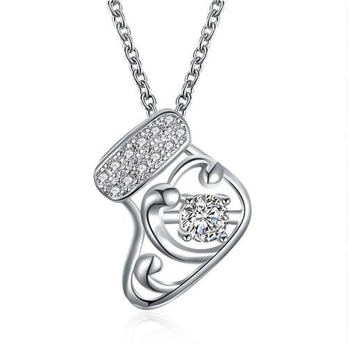 LKN18KRGPN1200-A regalo dei monili del pendente della catena di fascino della collana di Natale