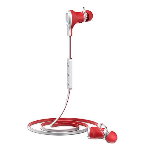 Roman S370 Bluetooth 4.1 Wireless Handsfree Sports Headphone with Volume Control for Smart Phone Tablet PC - Red