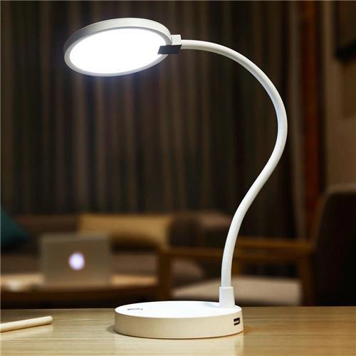 Xiaomi Mijia Lampa Smart Lampa Mobile 4000mAh Akumulator do ładowania akumulatora USB 4000K Lampa stołowa do renderowania kolorów na biurku Desklight -White