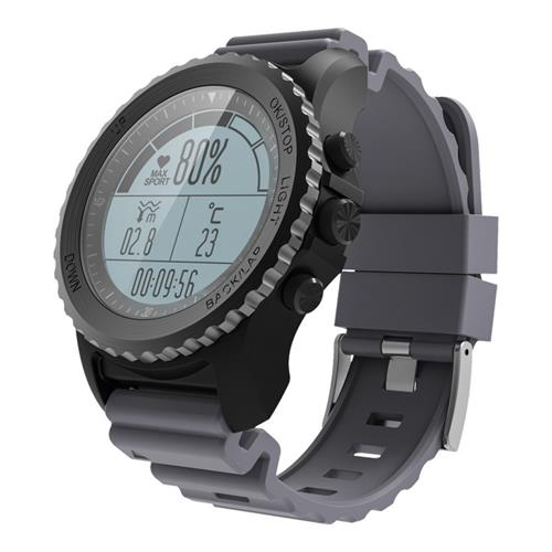 Makibes G07 IP68 Impermeabile Smart Sport Watch GPS Snorkeling Nordic4.0 IOS8 Android4.3 GPS Fitness - Grigio