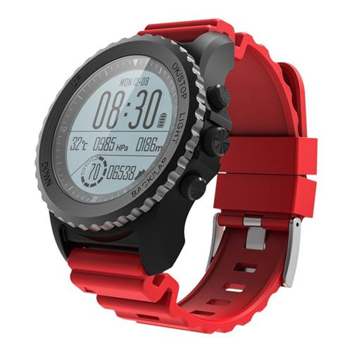 Makibes G07 IP68 Water Resistant Smart Sport Watch GPS Snorkeling Nordic4.0 IOS8 Android4.3 GPS Fitness - Red