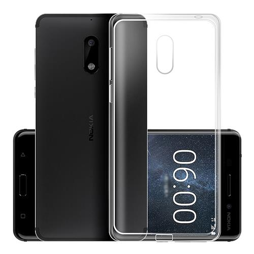 Nokia 6 Silicone Case Protective TPU Phone Shell Back Cover - Transparent Other