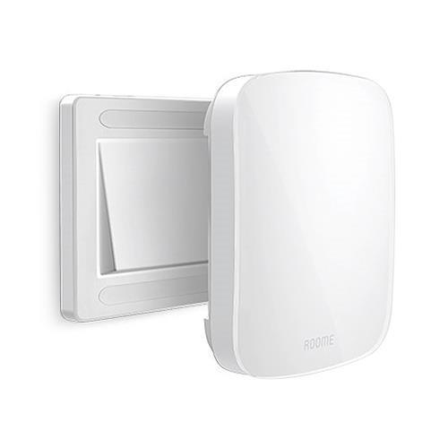 Interruttore Roome Smart Bluetooth Interruttore di controllo APP On / Off Interruttore tattile 86mm Box Sensore di luce automatico - Interruttore a un tasto