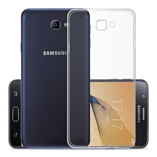 SAMSUNG Galaxy On7 G6100 Silicone Case Protective TPU Phone Shell Back Cover - Transparent фото