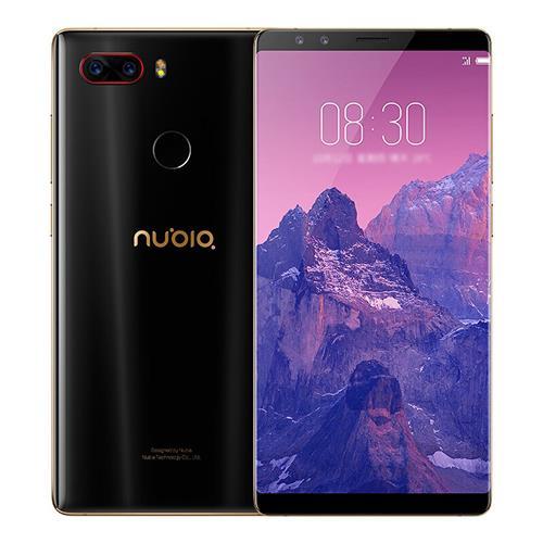 ZTE Nubia Z17S 5.73 Zoll 6GB 64GB Smartphone Schwarz Gold