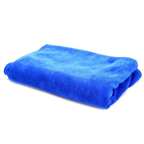 30 x 70cm Tovagliolo per auto multifunzionale per auto Asciugamano per lavaggio per cera ultrafinica per auto - Blu