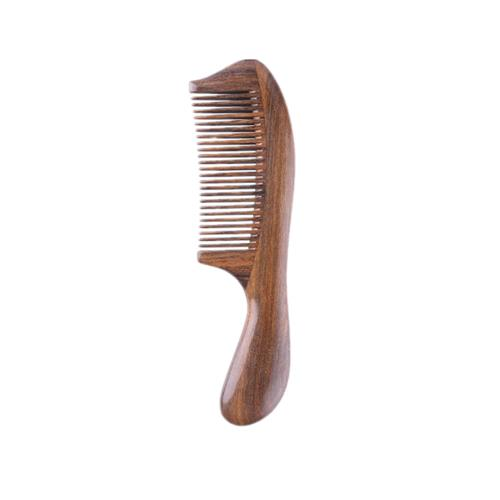 Xiaomi Mijia Natural Wood Handmade Comb Arc Shape фото