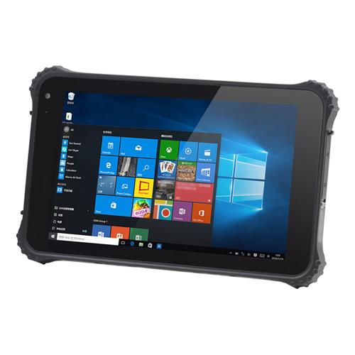 I86h Rugged Tablet Pc 8 Inch Ip67 Water Resistant Windows 10 4gb 64gb Intel Cherry Trail X5 Z8350 Quad Core Ips 1280 800 Gps Black