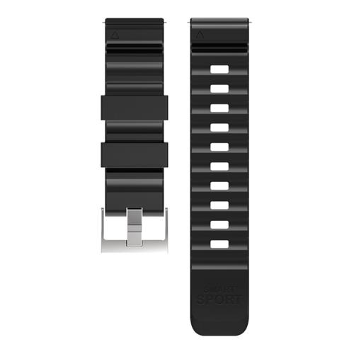 Replacement Watch Bracelet Strap Band 24mm for Makibes G07 - Black