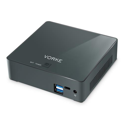 VORKE V2 Plus Intel Skylake I7-7500U Ubuntu 16.04 8GB RAM 256GB SSD Mini PC AC WIFI Gigabit LAN HDMI USB 3.0 - Lite Version