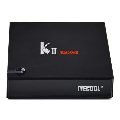 MECOOL KII PRO Hybird STB DVB-T2 / S2 / C YouTube 4K Netflix HD Android 7.1 Amlogic S905D 2GB / 16GB TV BOÎTE 802.11AC WIFI LAN KODI Bluetooth