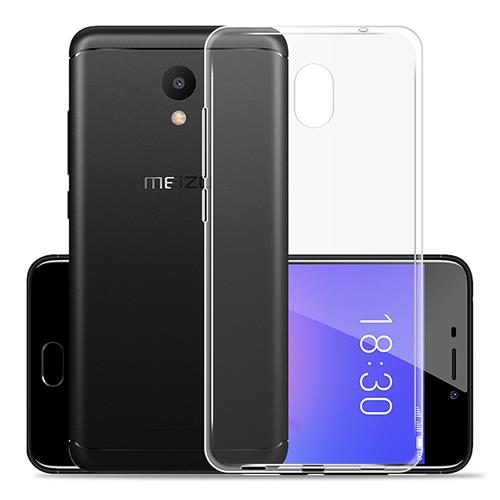 Transparent MEIZU M6 Silicone Case High Quality Protective TPU Phone Shell Back Cover фото