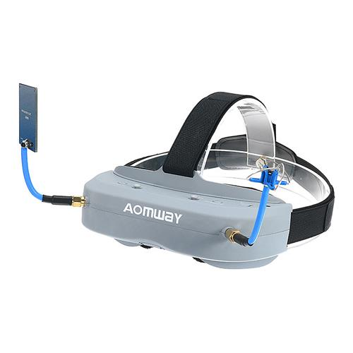 Aomway Commander Goggles V1 5.8G 40CH 2D 3D FPV Video Headset with Head Tracker Support HDMI Port DVR
