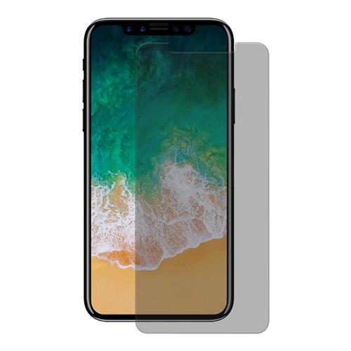 ENKAY Hat-Prince 0.26mm 9H 2.5D Anti-peep Tempered Glass Screen Protector For iPhone X - Black