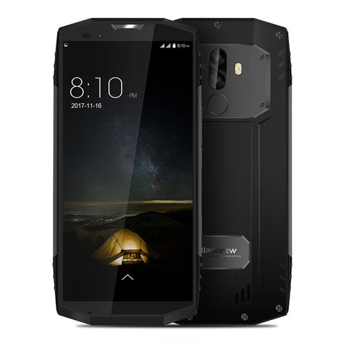 Blackview BV9000 Pro 5.7 Inch 4G LTE Smartphone 18:9 FHD+ Full Screen Waterproof IP68 6GB 128GB Helio P25 Octa Core Dual Rear Camera Android 7.1 4180mAh Quick Charge NFC - Gray