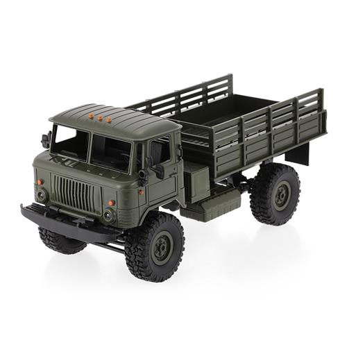 WPL B-24 2.4G 1:16 4WD Off-road Vehicles RC Car RTR - Army Green