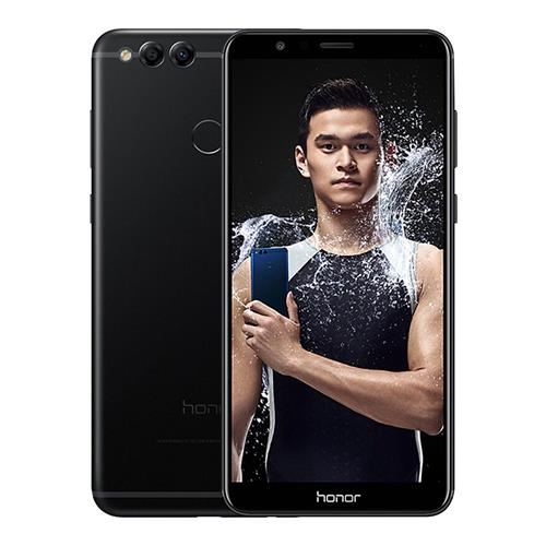 HUAWEI Honor 7X 5.93 Inch Smartphone 18:9 Full Screen 4GB 128GB Kirin 659 Octa Core Dual Rear Cam Android 7.0 Touch ID 3340mAh Battery  Metal Body - Black