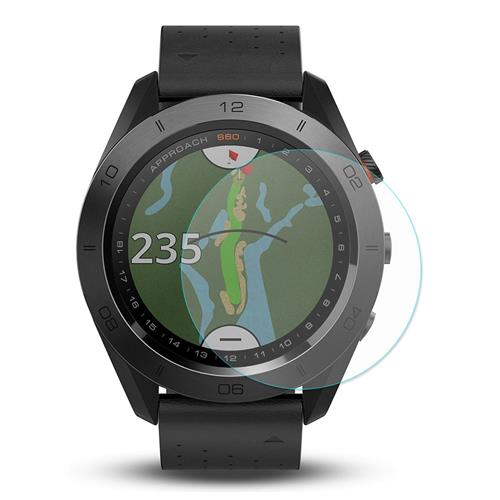 Hat-Prince Screen Protective Film For Garmin Approach S60 Smartwatch - Transparent