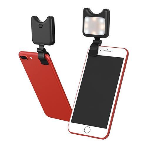Apexel APL-FL01 โคมไฟแบบเติมแสงด้วยตนเองสำหรับโทรศัพท์มือถือแท็บเล็ตพีซี