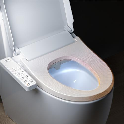 Xiaomi Mijia Smart Toilet Seat UV Sterilization IPX4 Waterproof Electric Bidet Cover Dual Self-cleaning Nozzle Intelligent Toilet Lid -White