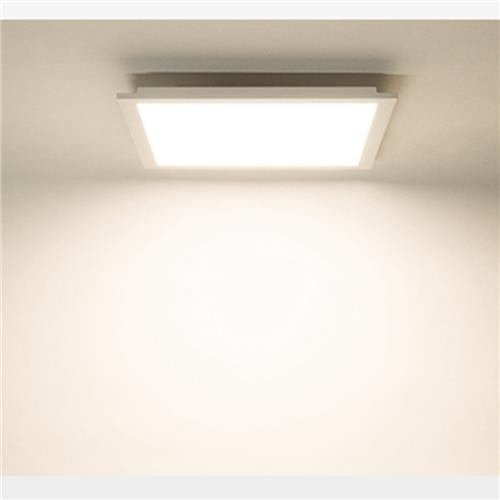 Xiaxight 30x30cm IP50 Anti-polvere Ultra-sottile conservante 48 Light Beads 900lm Ceiling Light -Warm Light