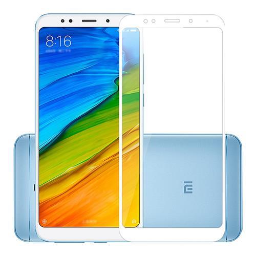 White Xiaomi Redmi 5 Plus Tempered Glass 0.26mm Full Screen Explosion-proof Membrane Screen Film фото